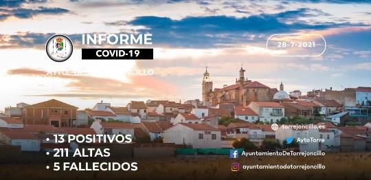INFORME DE SITUACIÓN COVID-19 a 28/07/2021