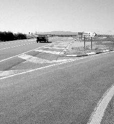 Una mujer de 31 años y un niño de 6, heridos en un accidente de tráfico en Portaje