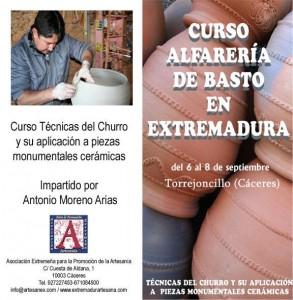 Díptico del curso - ARTESANEX