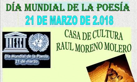 Celebración del Día Mundial de la Poesía de Torrejoncillo y Valdencin