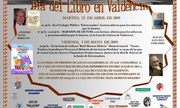 Día del Libro en Valdencín