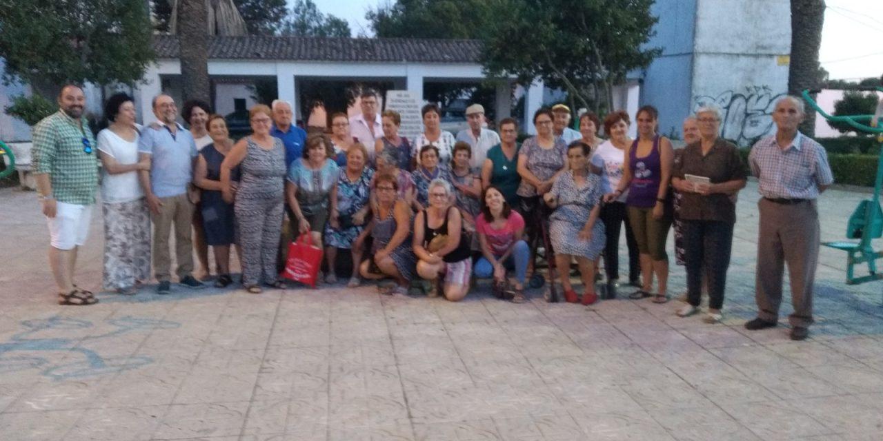 Celebración del Día de los Abuelos en Valdencín