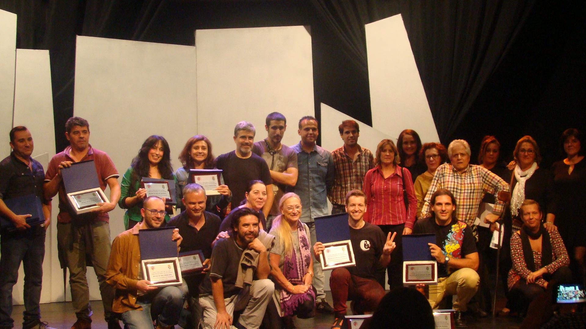 Carabau Teatro obtiene el premio al Primer Montaje teatral en el XXIV Certamen Nacional de Teatro Amateur «Raúl Moreno Molero»