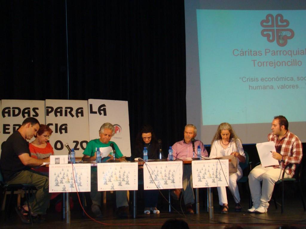 Una de las mesas redondas celebradas en las IX Jornadas para la Tolerancia - UPT