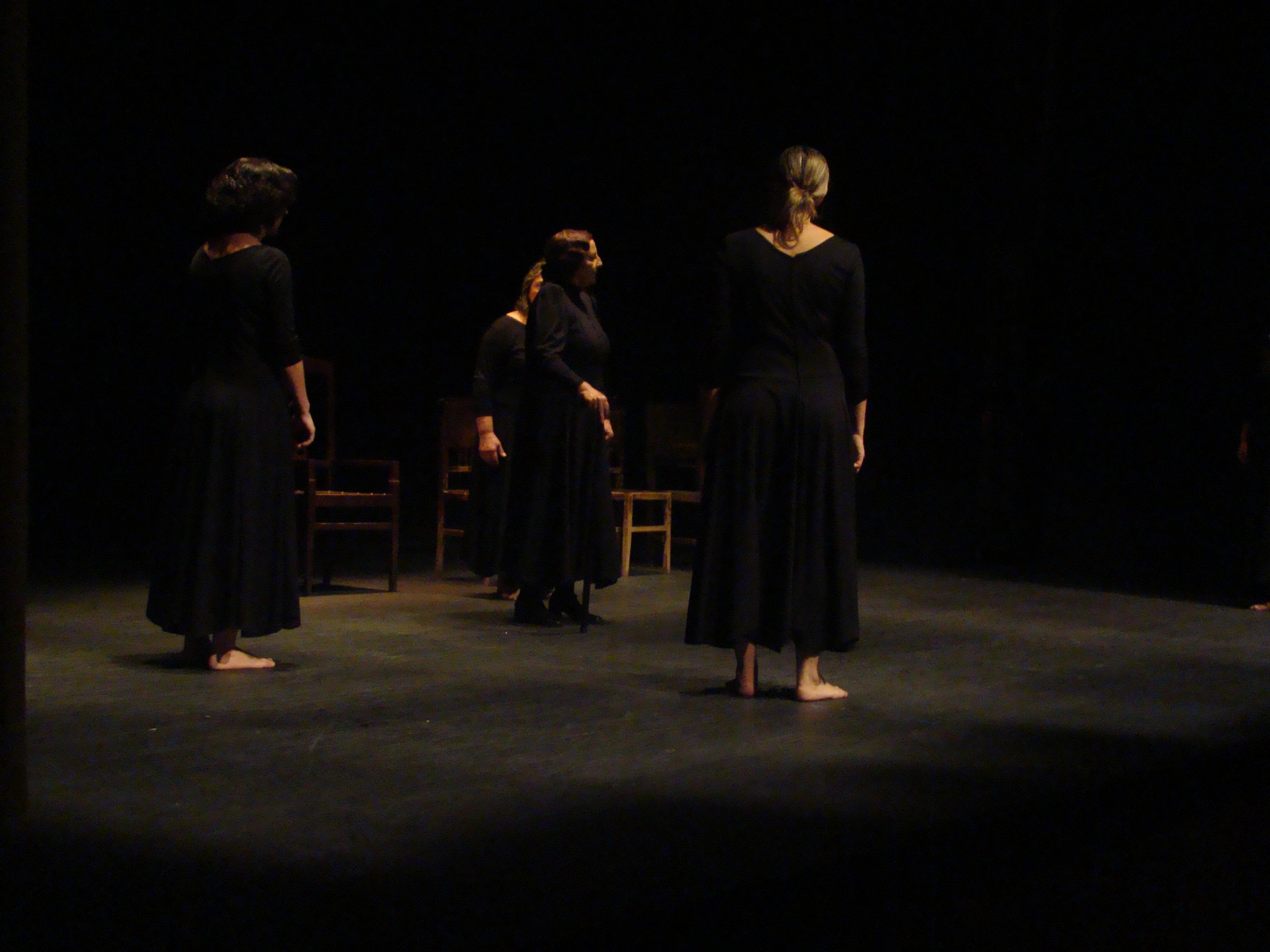 Clausura del curso de Teatro y del Aula de música