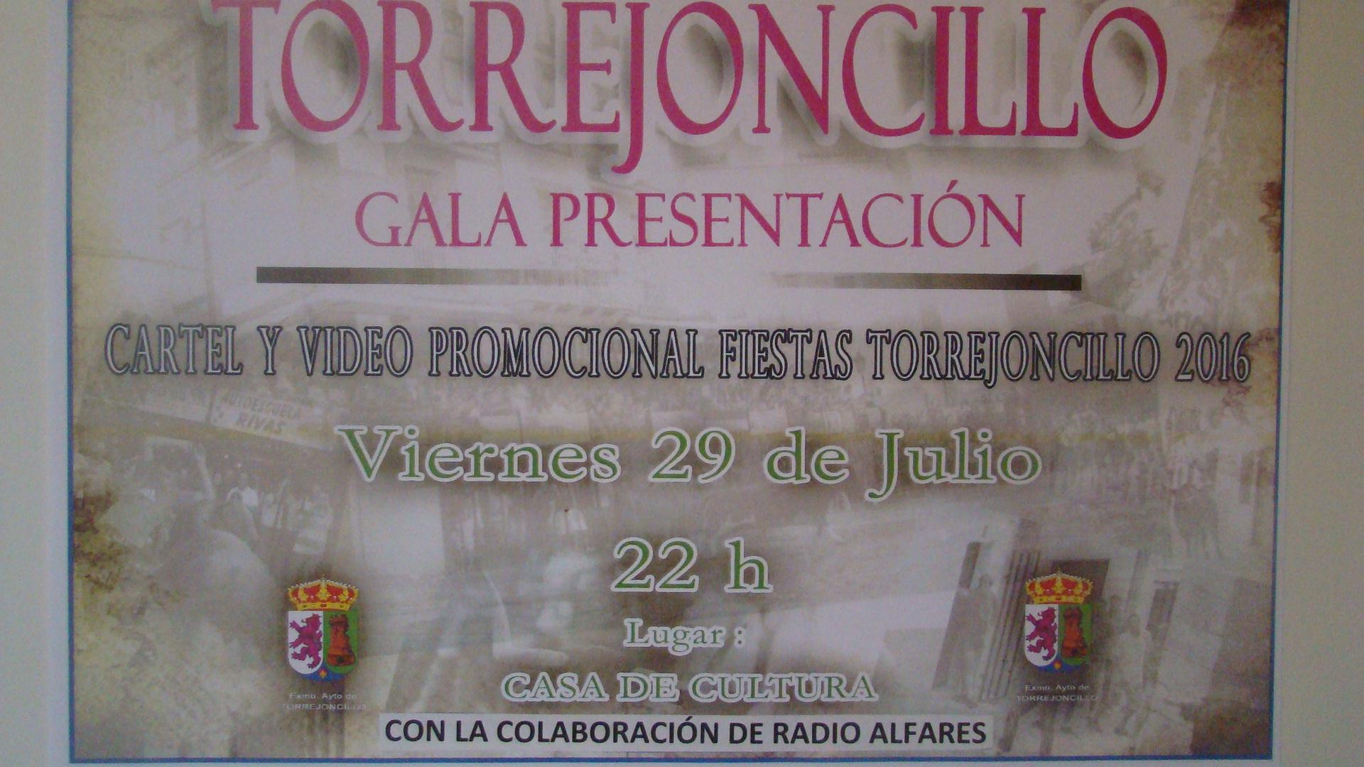 Gala de presentación Fiestas de Agosto 2016