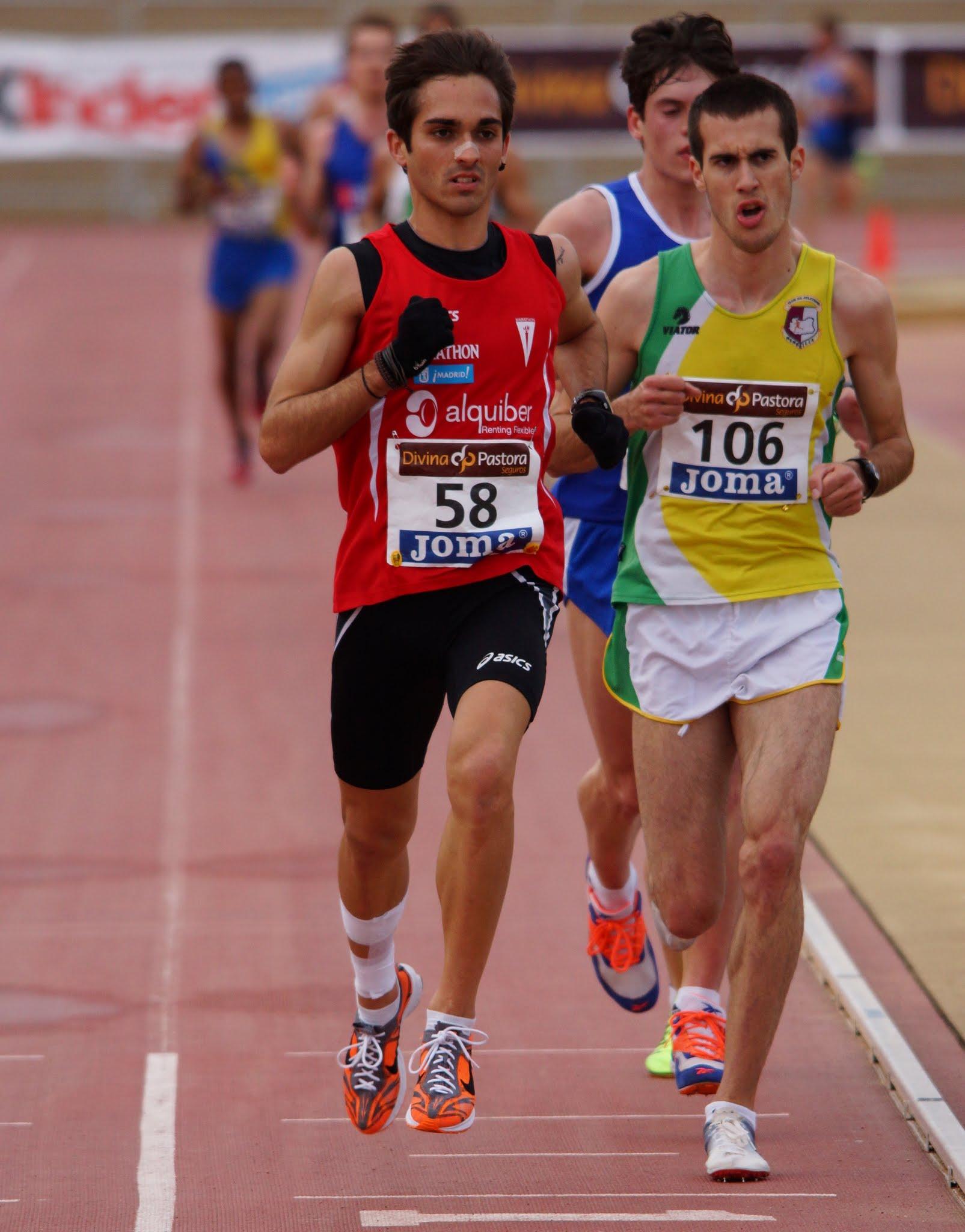 Soberbio quinto puesto de Mario Mirabel en el Campeonato de España de 10.000 m.l. promesa