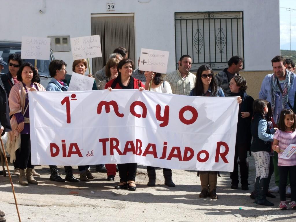 """Los manifestantes se reunieron en """"La Casa del Pueblo"""" - ISMAEL DUARTE"""