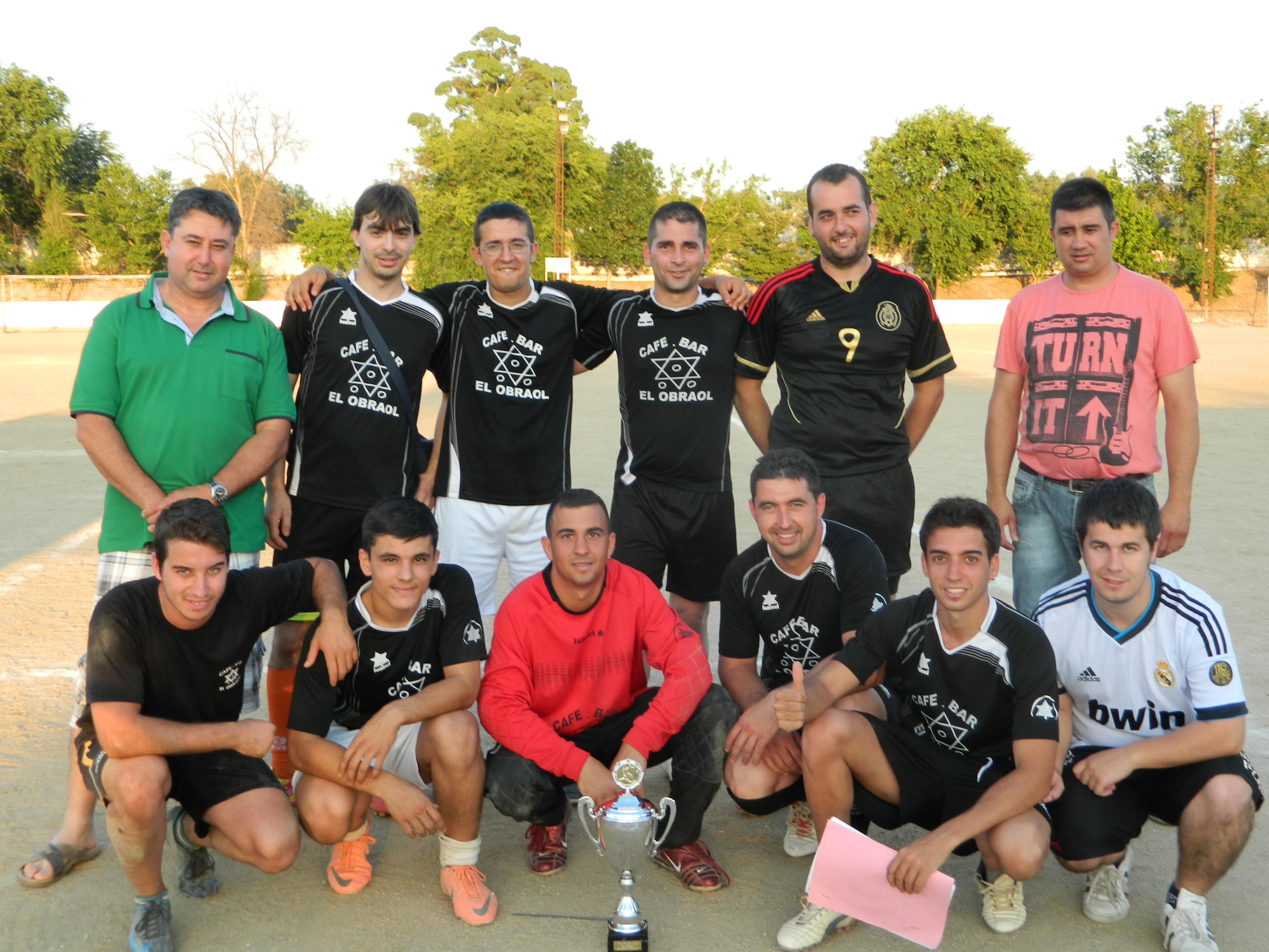 Bar Obraol / Deportes Clemente se proclama campeón de la X Copa Primavera de Fútbol 7