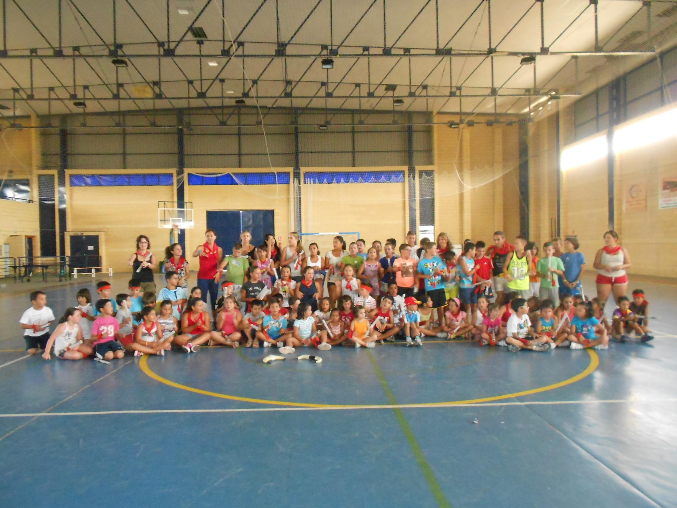 Gran éxito de los VIII Campamentos de Verano del AMPA