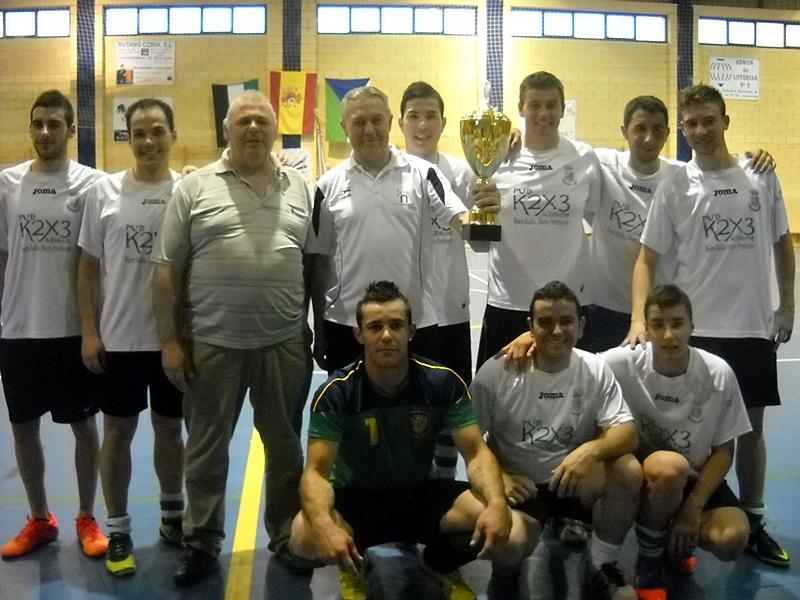 Acehúche se proclamó campeón de la VII Copa Mancomunada de Fútbol Sala