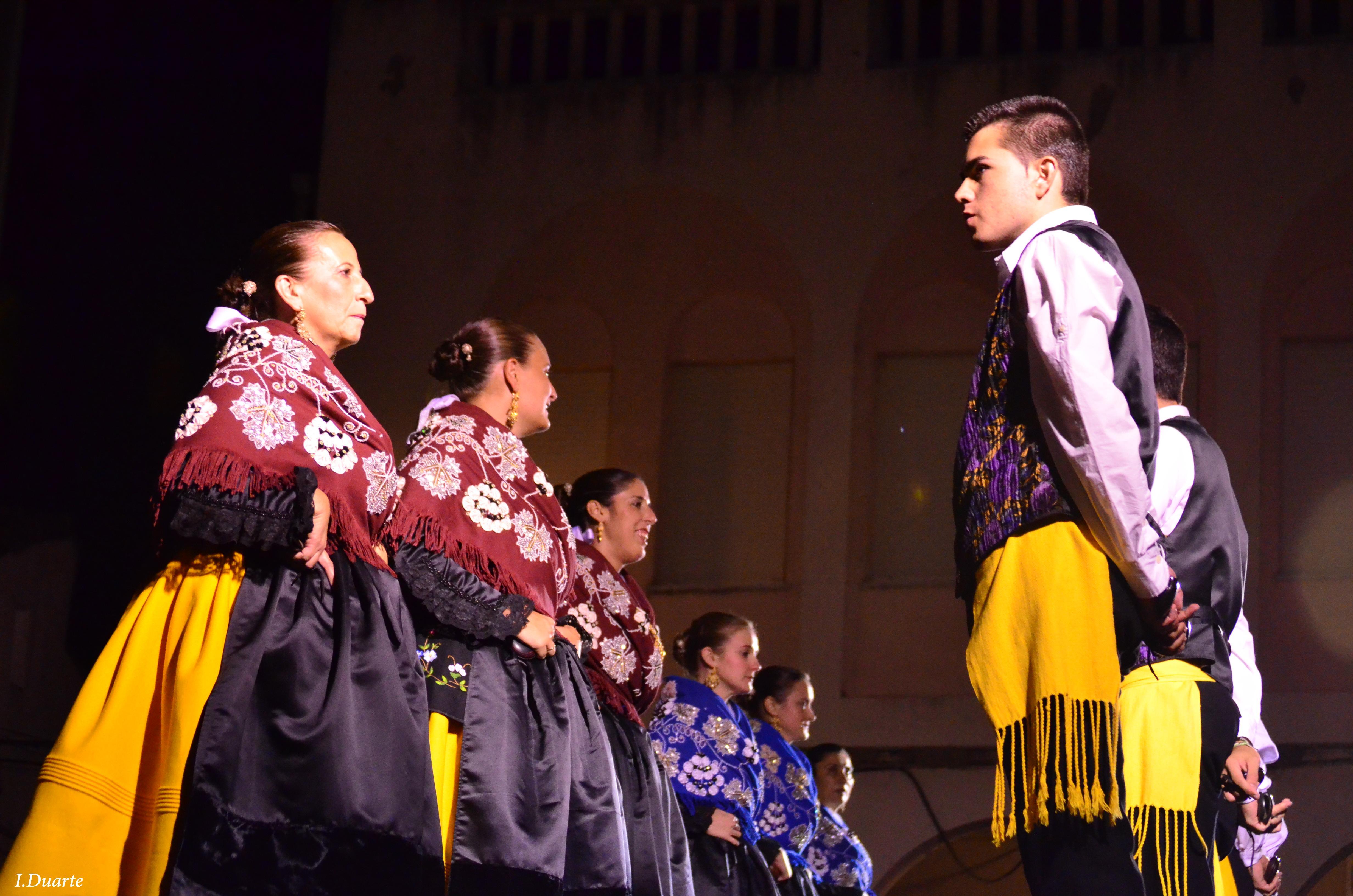 El Grupo Local de Coros y Danzas estuvo presente el pasado sábado en Portezuelo