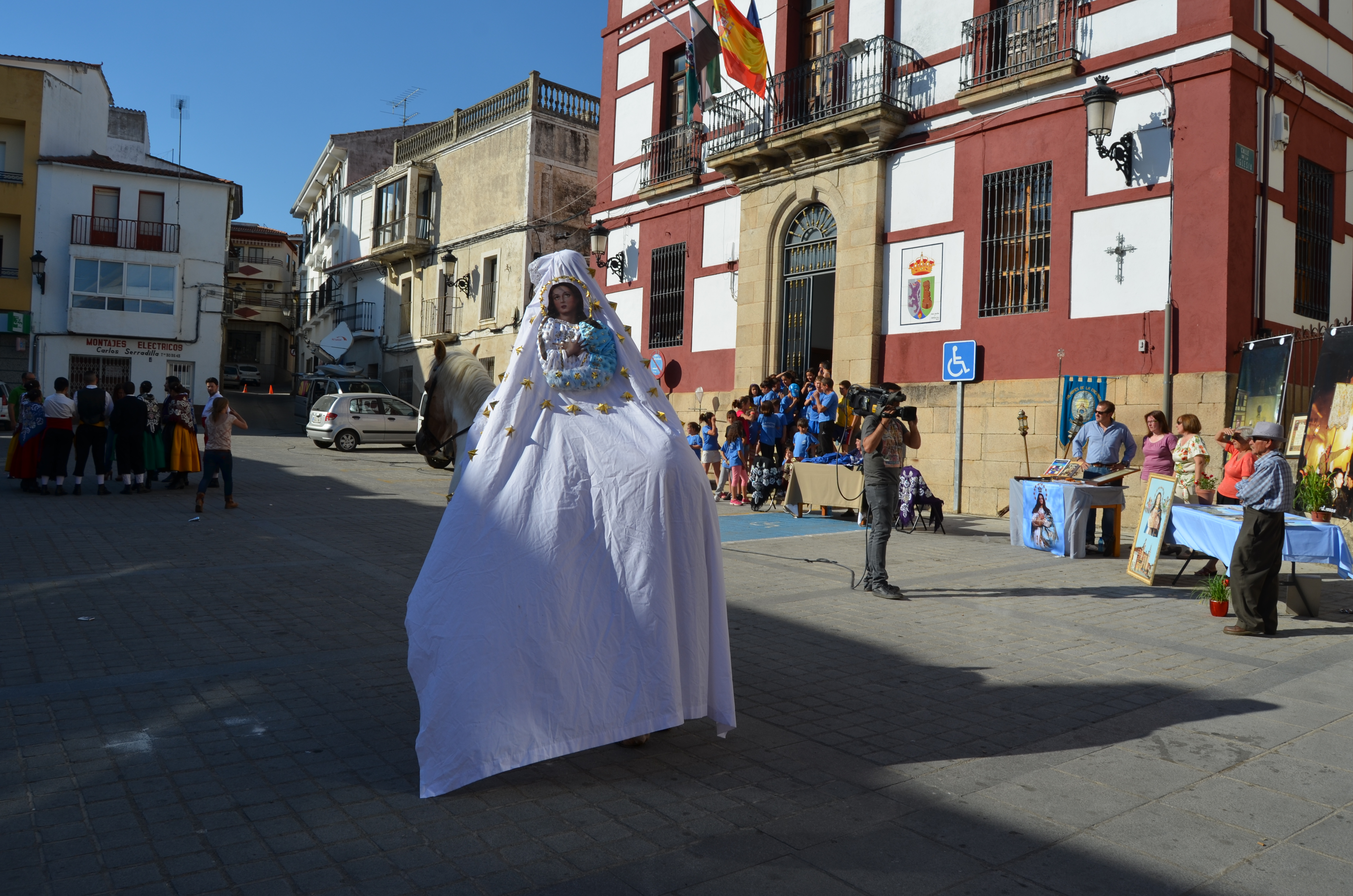 Torrejoncillo fue protagonista en «Buenas Tardes Extremadura»