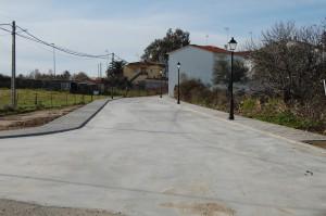 Tramo asfaltado nuevo desde el Playa al Polear