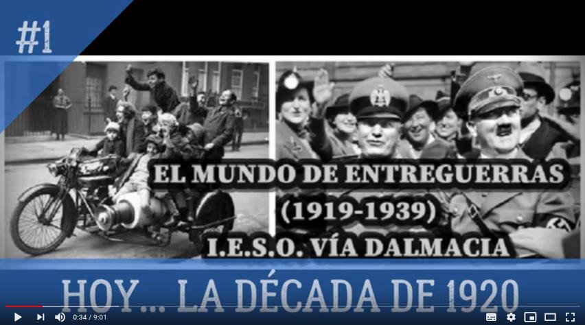 DALMACIA NEWS – Los felices años 20 – 4º E.S.O., CIENCIAS SOCIALES
