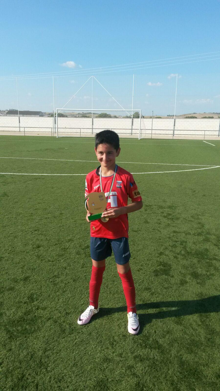 Daniel López, campeón de Extremadura de Fútbol