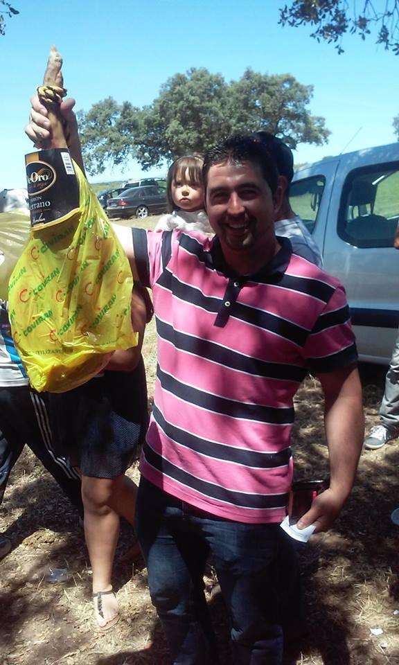 Mauricio Pérez ganador del concurso de pesca