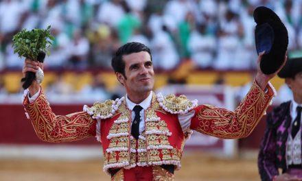 Emilio de Justo declarado triunfador en Huesca