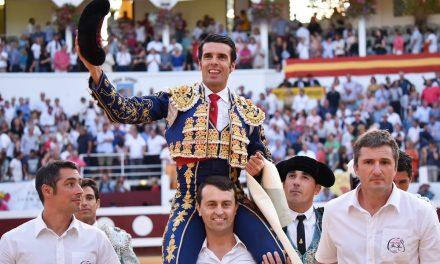 Emilio de Justo declarado triunfador del suroeste francés por los Clubes Taurinos Paul Ricard
