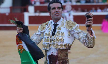 Triunfal reaparición de Emilio de Justo en Soria