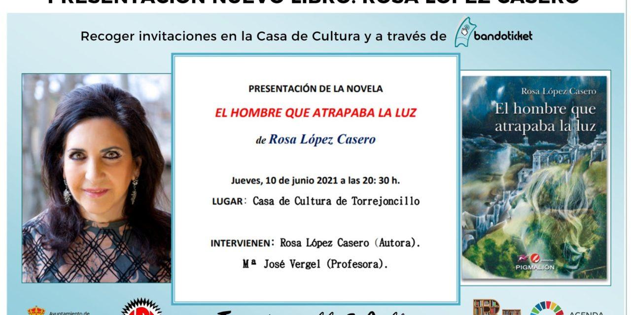 PRESENTACIÓN DEL NUEVO LIBRO DE ROSA LÓPEZ CASERO