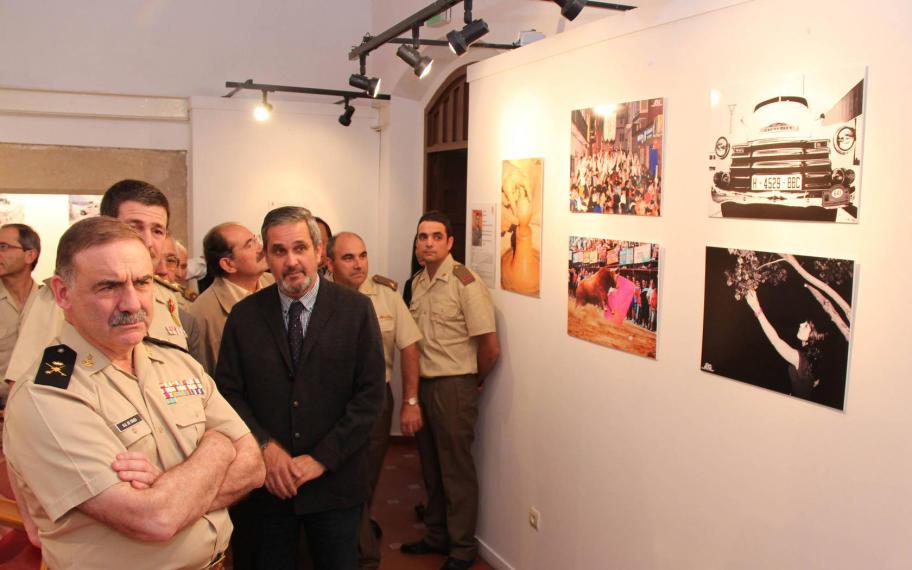 """Una fotografía de """"La Encamisá"""" formó parte de la muestra - MARISA NUÑEZ"""