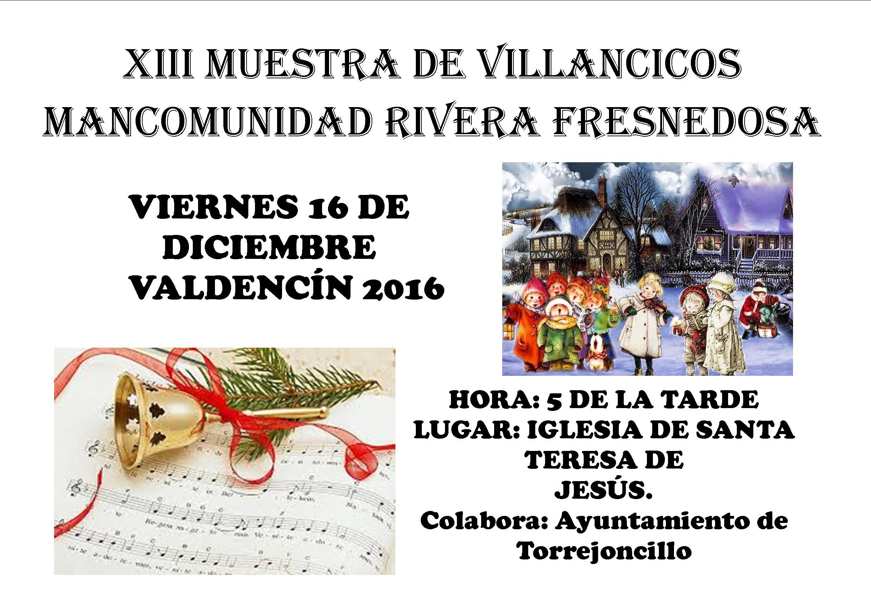 XIII muestra de Villancicos Mancomunidad Rivera de Fresnedosa