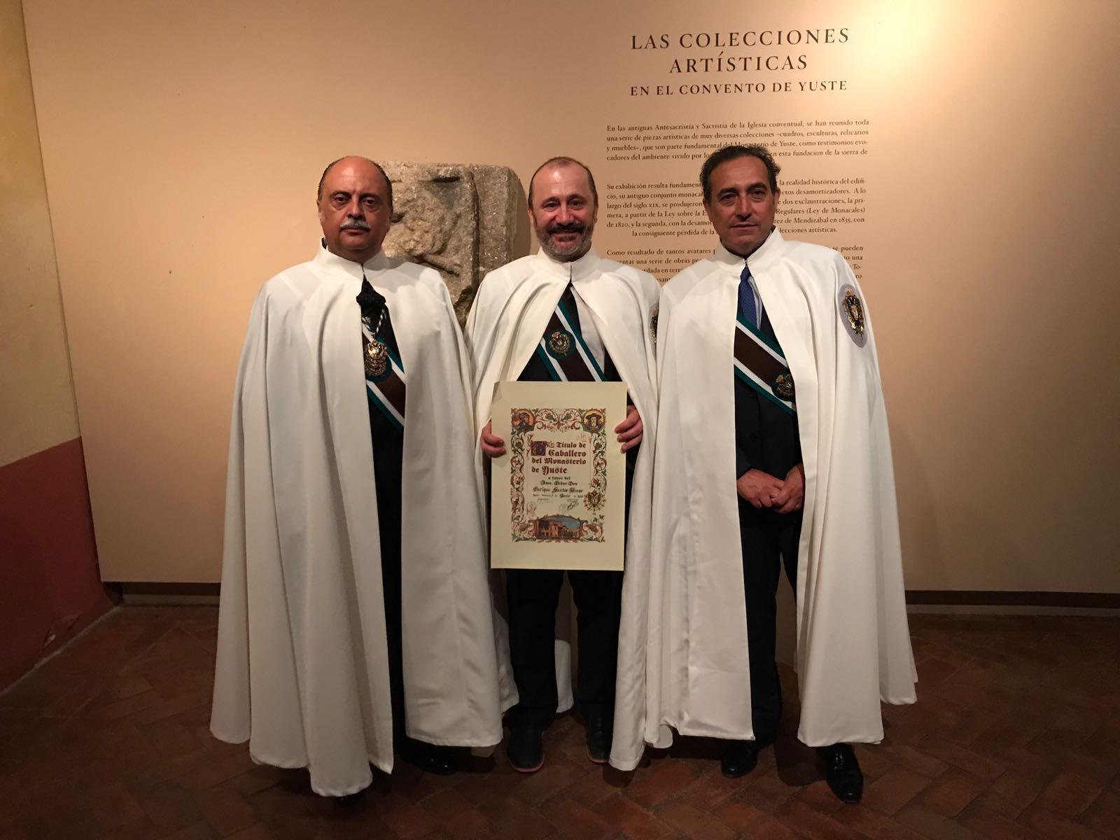Enrique Santos Bueso ha sido nombrado Caballero de Yuste