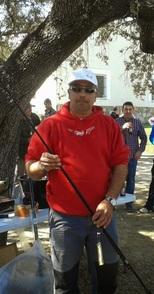 Fernando Cordero se alza con el triunfo del primer concurso de  pesca del año