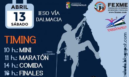 Torrejoncillo celebrará la tercera edición de su Torrescalada el próximo 13 de Abril