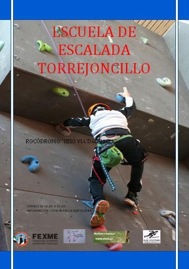 Torrejoncillo cuenta con su Escuela de Escalada