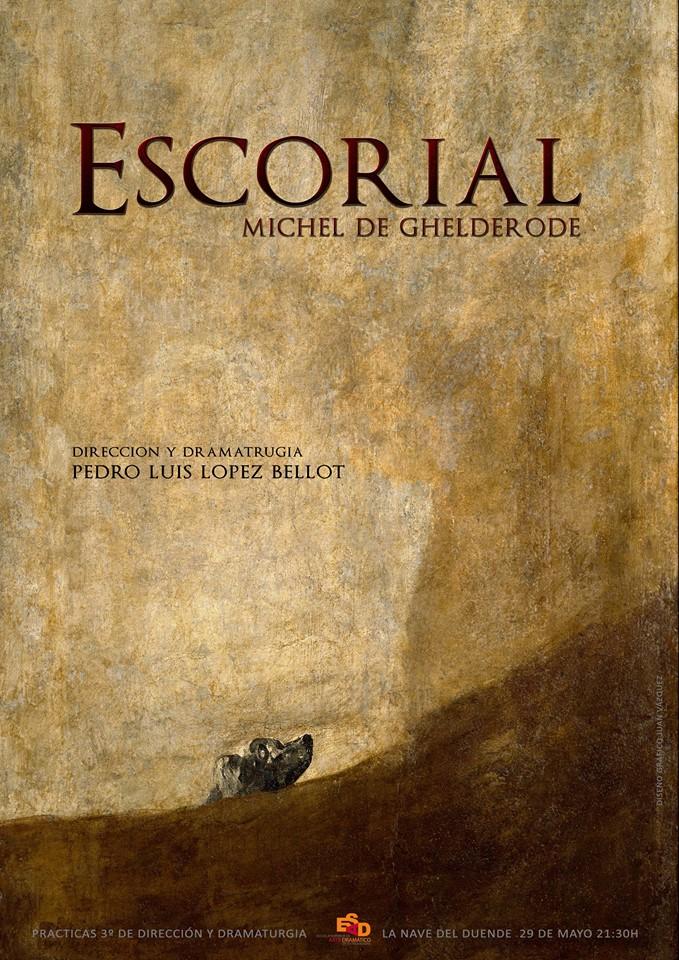 El 29 de mayo, Escorial, bajo la dirección de Pedro Luis López