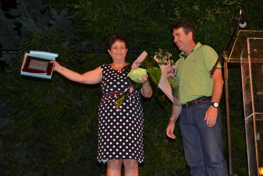 Estrella Clemente daba el pistoletazo de salida a Valdencin 2014