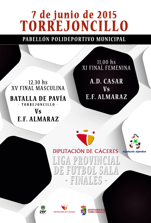 Este domingo: final de la Liga Provincial de Fútbol Sala en Torrejoncillo