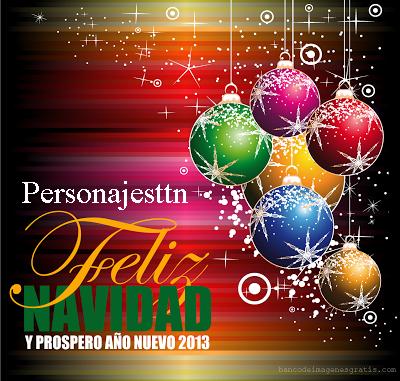 Felicitación Navidad Personajes ttn