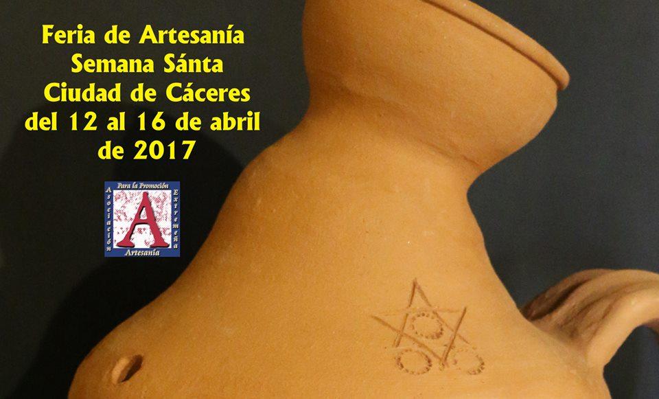 La Feria de Artesanía de Cáceres coloca una de nuestras tinajas torrejoncillanas como cartel promocional