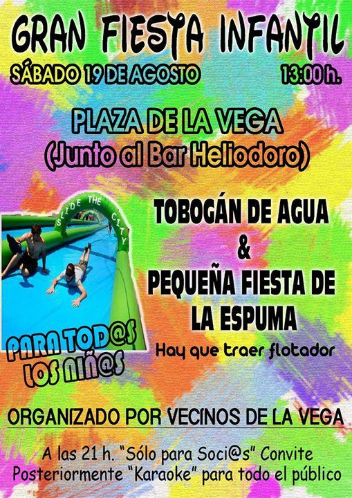 Gran fiesta infantil Plaza de la Vega