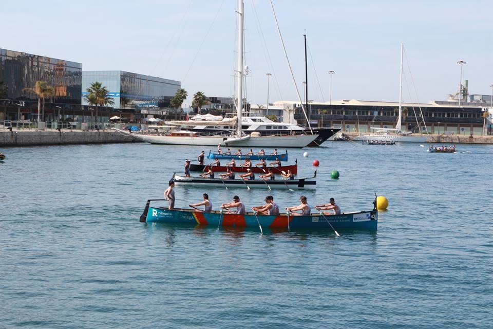 Pódium de un torrejoncillano en el Campeonato de España Llaut Mediterráneo 2017