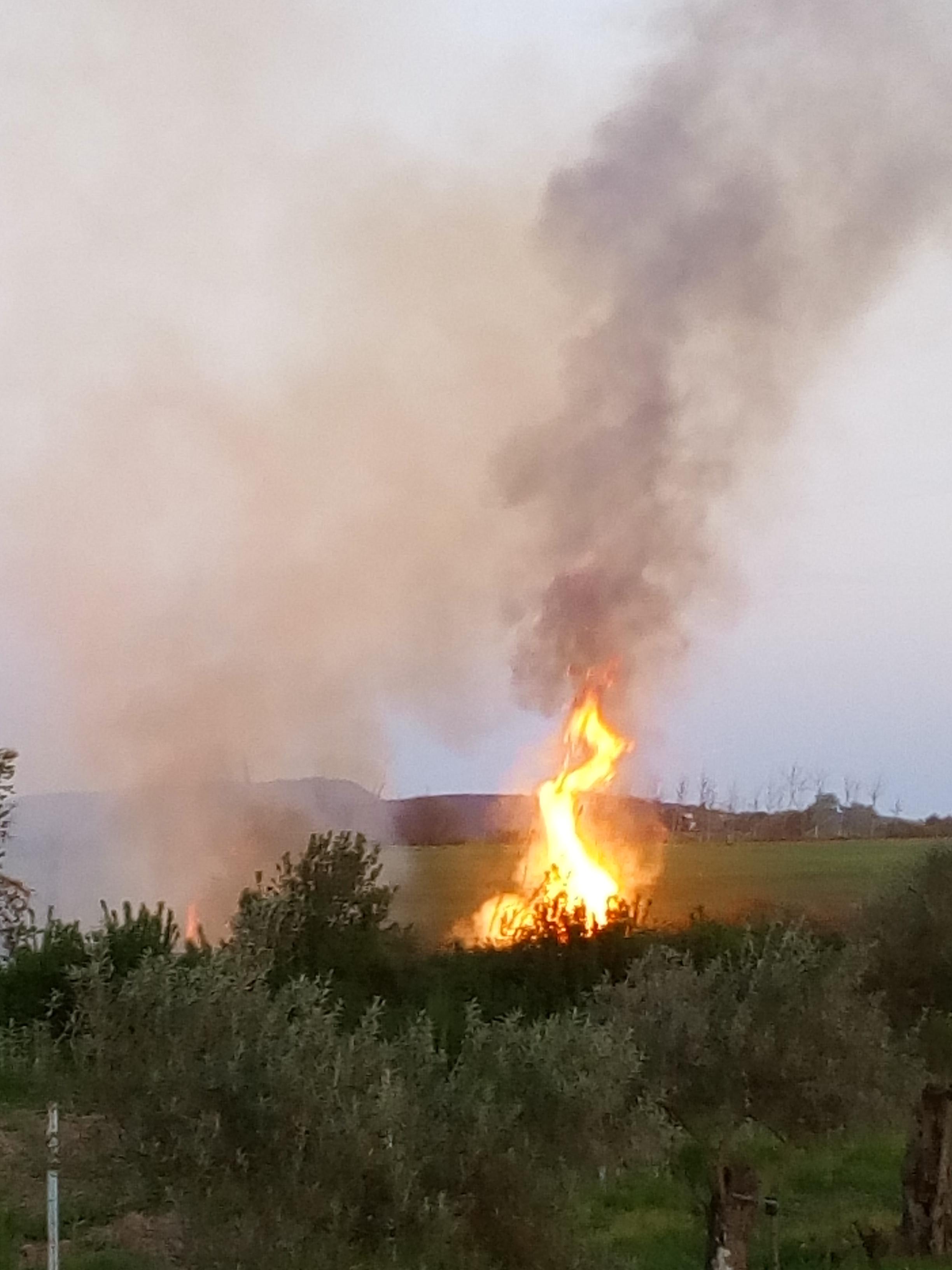 Segundo incendio del año en el mismo fin de semana