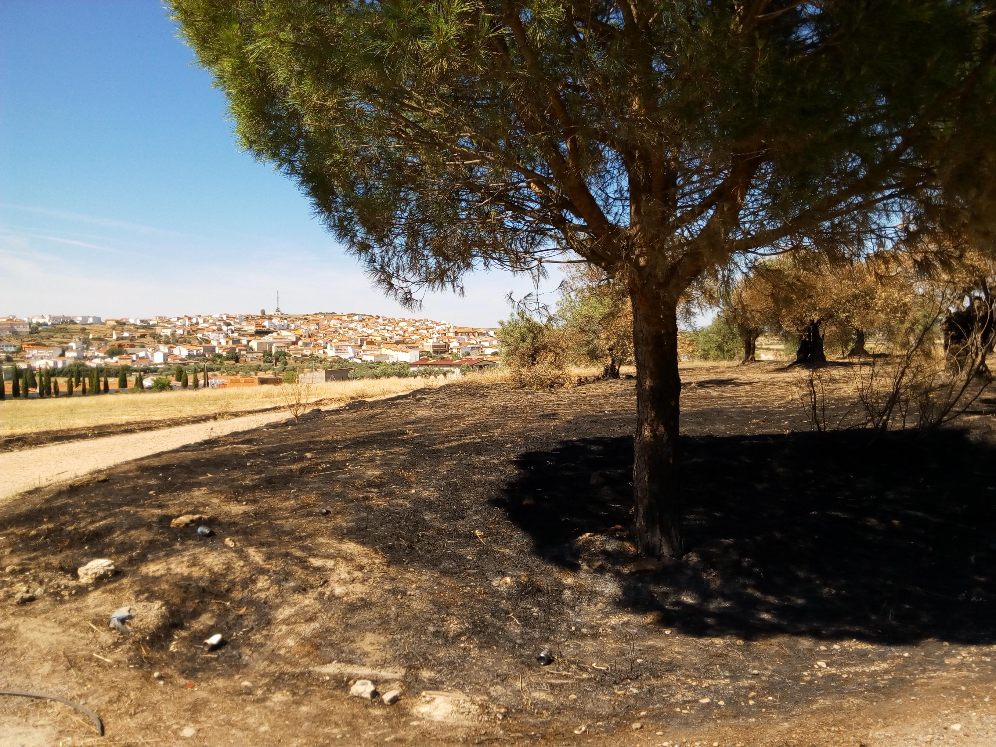 Se suspenden las quemas en el término municipal durante tres días
