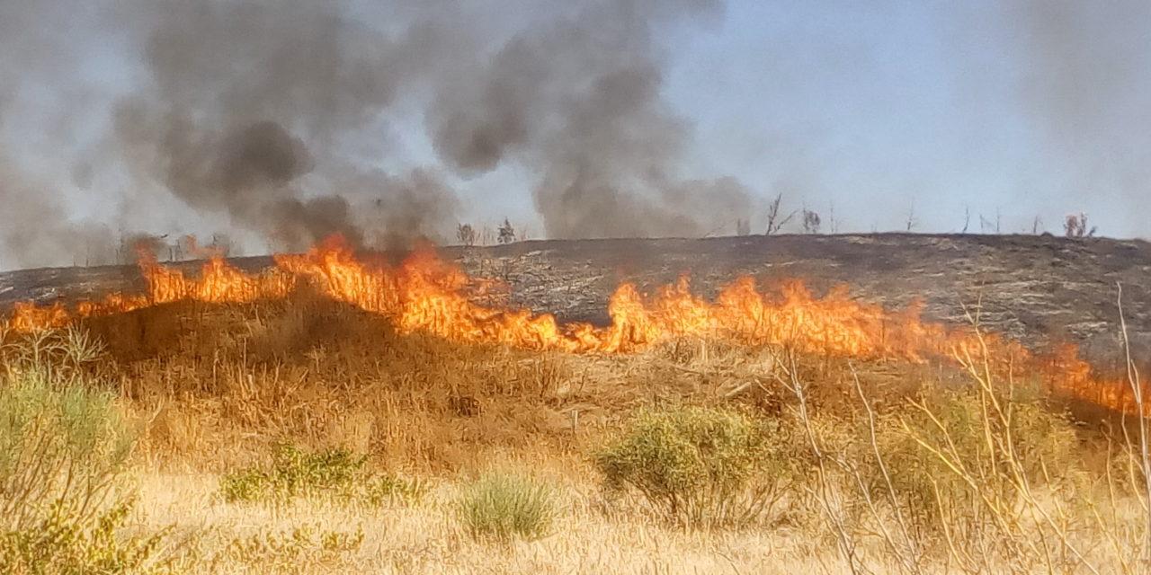 Fuego en la Esparraguera