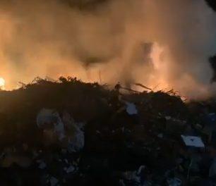 Fuego en Valdencin