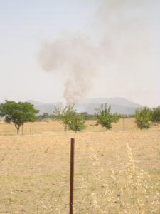 Fuego Trabacuartos-La Zorrera 1