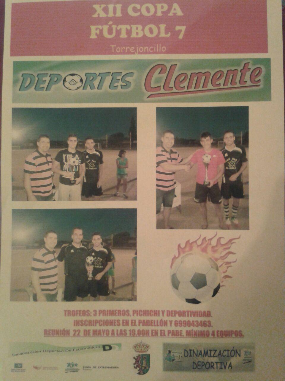 XII Copa Fútbol 7 Torrejoncillo