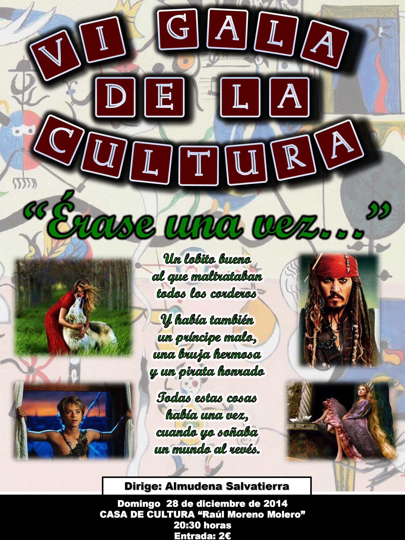 Domingo 28 de diciembre: VI Gala de la Cultura de Torrejoncillo