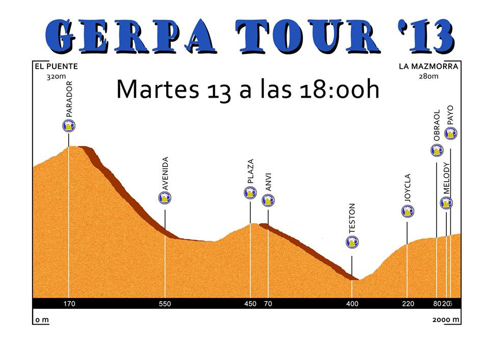 El GerpaTour dará esta tarde el pistoletazo de salida a las Fiestas de Agosto 2013