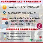 GIMNASIA DE MAYORES EN TORREJONCILLO Y VALDENCÍN