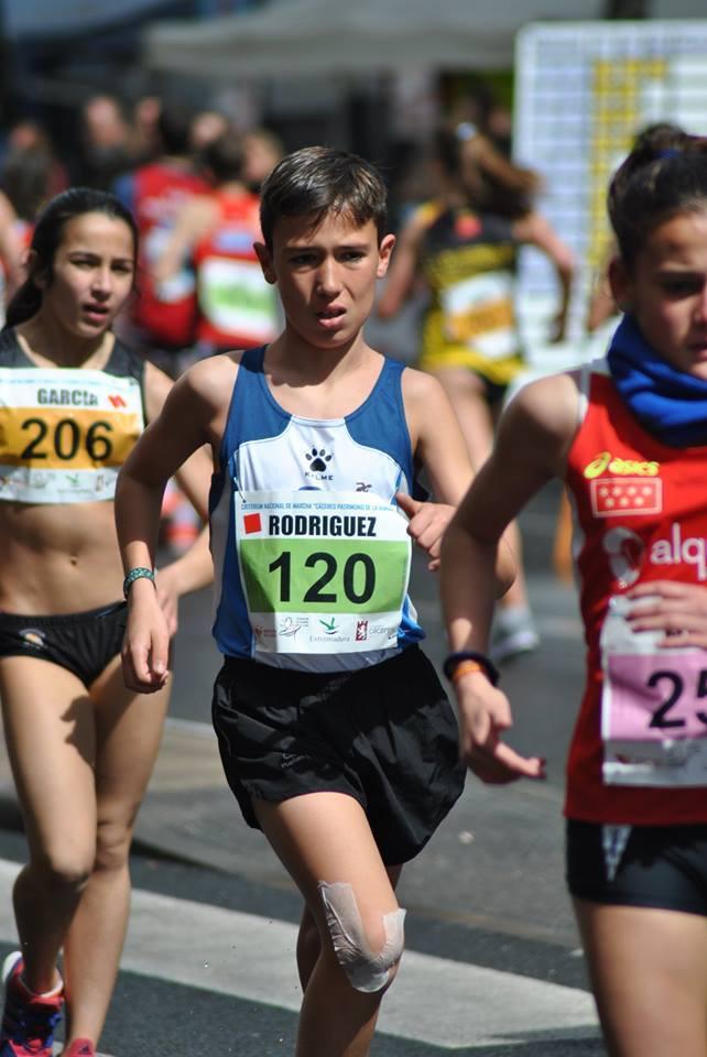 Gonzalo Rodríguez participa hoy en el Campeonato de España de Marcha
