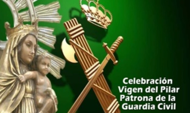 La Guardia Civil del Puesto de Torrejoncillo, invita a toda la población al único acto que se desarrollará en el día de su patrona
