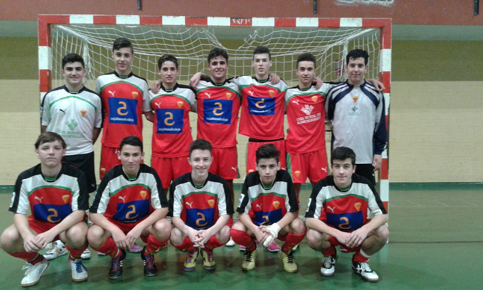 Héctor Rivero en el Campeonato de España Cadete de Fútbol Sala